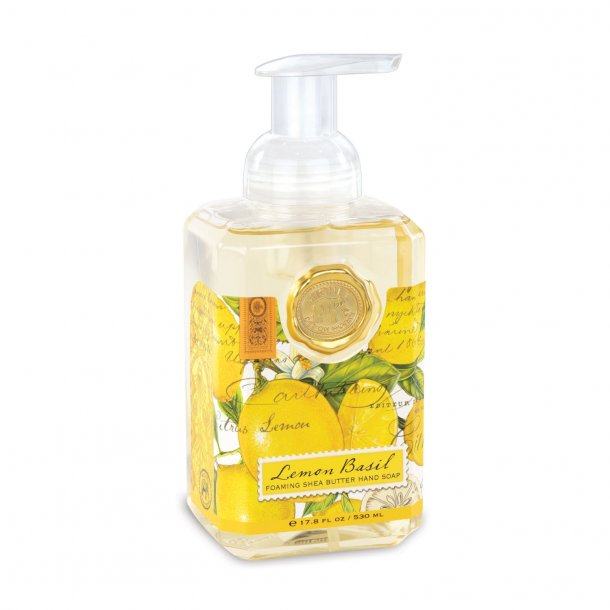 Håndsæbe - Lemon Basil - skumhåndsæbe